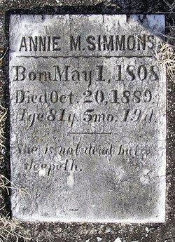 Annie M. Simmons