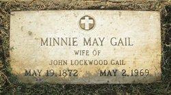 Minerva May Minnie <i>Raymond</i> Gail