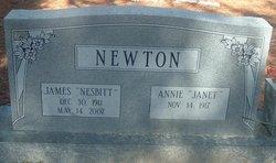 Annie Janet <i>Butler</i> Newton