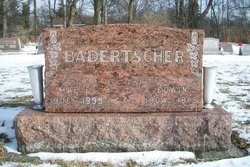 Mae Elizabeth <i>Murray</i> Badertscher