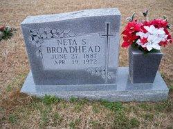 Neta Savannah <i>Blackledge</i> Broadhead