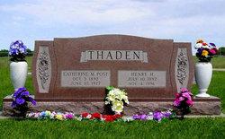 Henry Herman Thaden