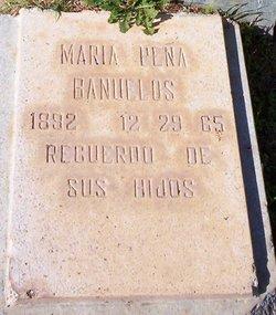 Maria <i>Pena</i> Banuelos