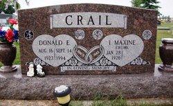 I Maxine <i>Crume</i> Crail