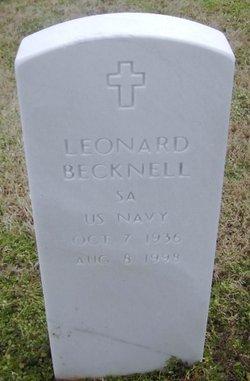 Leonard Becknell