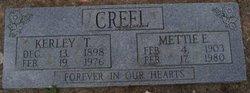 Mettie <i>Evans</i> Creel