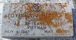 Aloysious J Hebert, III