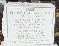 Christopher Sower