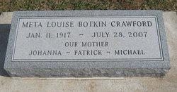 Meta Louise <i>Botkin</i> Crawford