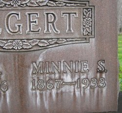 Minnie Susan <i>Erb</i> Biegert