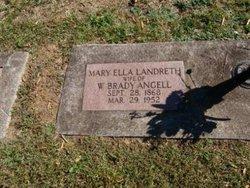 Mary Ella <i>Landreth</i> Angell