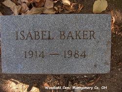 Isabel <i>Dixon</i> Baker
