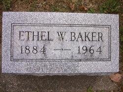 Ethel W <i>Williams Bourie</i> Baker