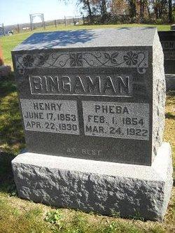 Pheba Jane <i>Roll</i> Bingaman