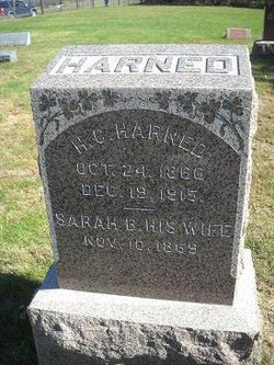 Sarah Belle <i>Sherwood</i> Harned