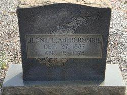 Jennie E <i>Hill</i> Abercrombie