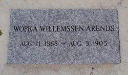 Wopka <i>Willemssen</i> Arends