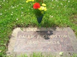 California Callie <i>Brown</i> Charlton