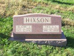 Ora <i>DeShong</i> Hixson
