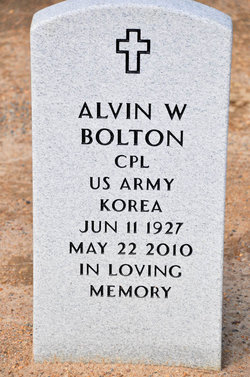 Corp Alvin William Bolton