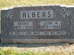 Lena Anna <i>Burkhardt</i> Albers
