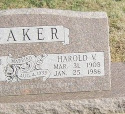 Harold V Baker