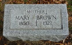 Mary A <i>Prendergast</i> Brown