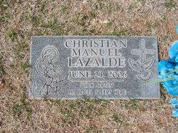 Christian Manuel Lazalde