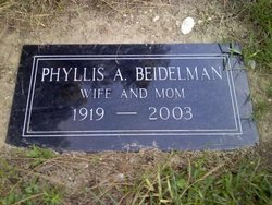 Phyllis Aileen <i>Waage</i> Beidelman