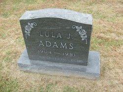 Lula J. <i>Kelly</i> Adams