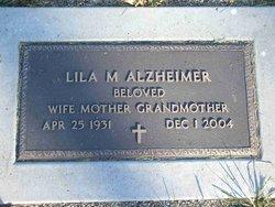 Lila M <i>Foley</i> Alzheimer