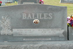 Posey Lester Baliles