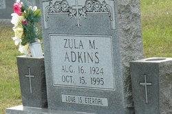 Zula M Adkins