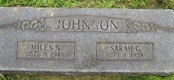 Miles Standish Johnson