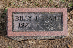 William J Billy Grant