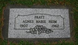 Agnes Marie <i>Heim</i> Pratt