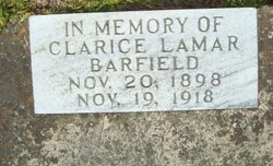 Clarice Lamar Barfield