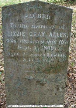 Lizzie Gray Allen