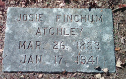 Josie <i>Finchum</i> Atchley