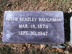 Pattie <i>Beazley</i> Baughman