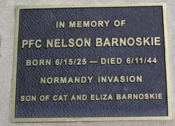 PFC Nelson Barnoskie