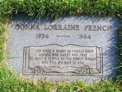 Donna Lorraine <i>Lattimer</i> French