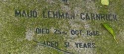 Maud Lehman Carnrick