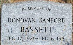 Donovan Sanford Bassett