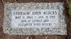 Ephraim John Acocks