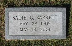 Sadie <i>Garnett</i> Barrett