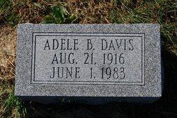 Mrs Adele <i>Burch</i> Davis