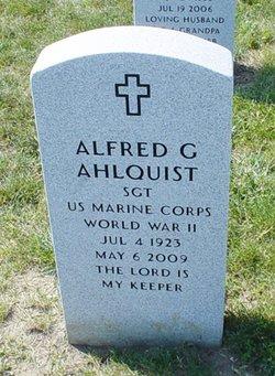 Alfred George Ahlquist