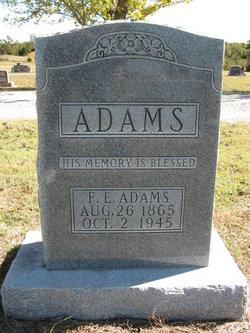 F E Adams