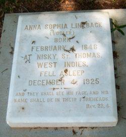 Anna Sophia <i>Vogler</i> Lineback